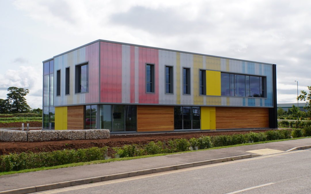 Contractor completes new build for energy technology firm