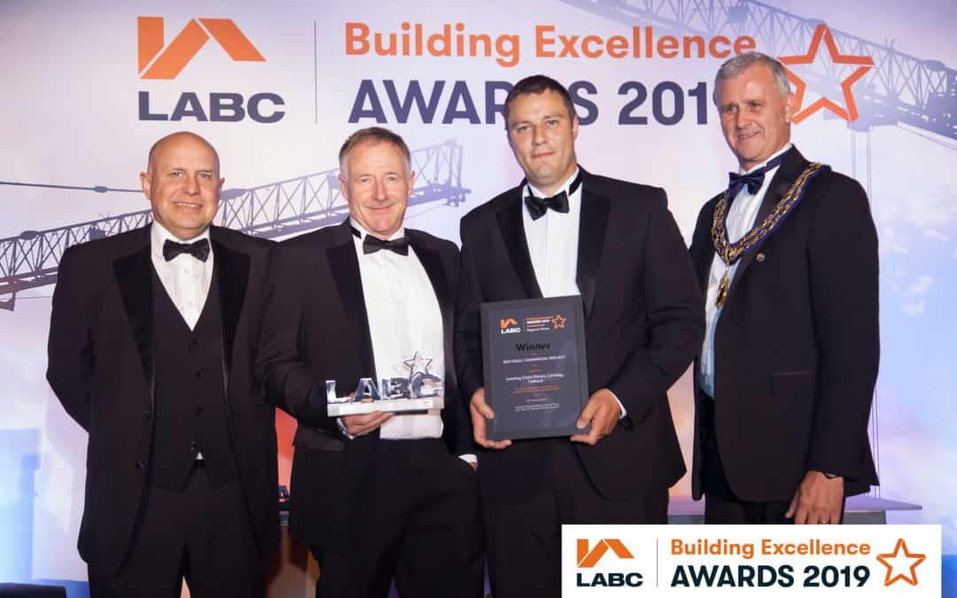 apT celebrates success at Midlands construction awards